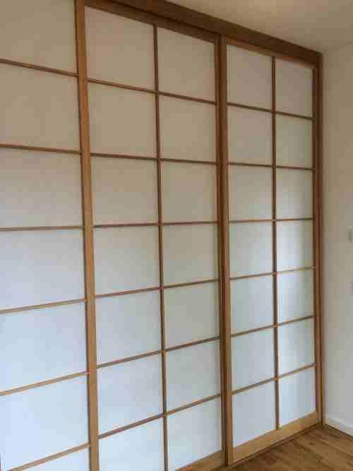 shoji t ren vom erfahrenen profi japanische innenausstattung raumteiler schrankverkleidungen. Black Bedroom Furniture Sets. Home Design Ideas